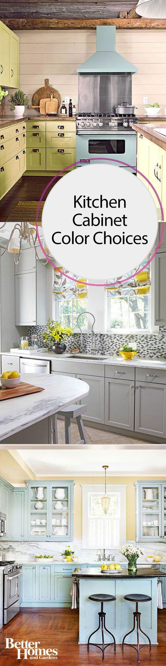 Kitchen Cabinet Color Choices   Häuschen