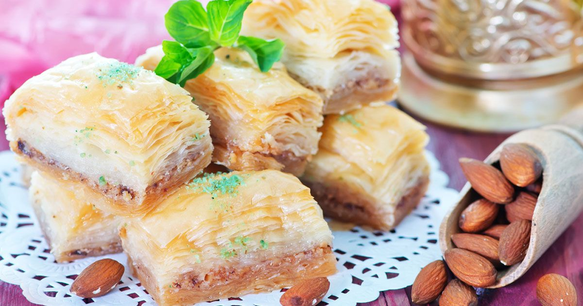 البقلاوة التركية Recipe Dessert Recipes Ramadan Recipes Recipes