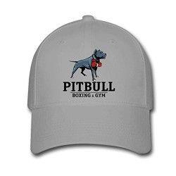 Pitbull Vintage Outdoor Snapback Sandwich Cap Adjustable Baseball Hat Plain Cap