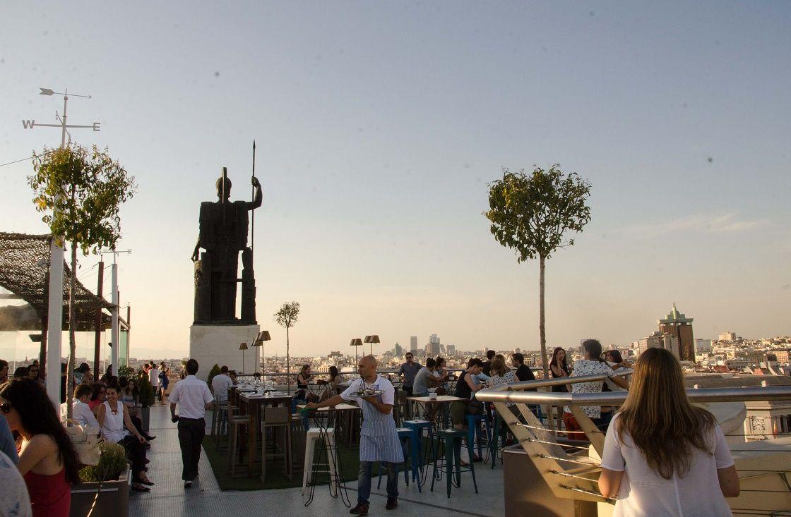 Azotea Del Circulo Una De Las Mas Lindas De Madrid With Images New York Skyline Willis Tower Skyline