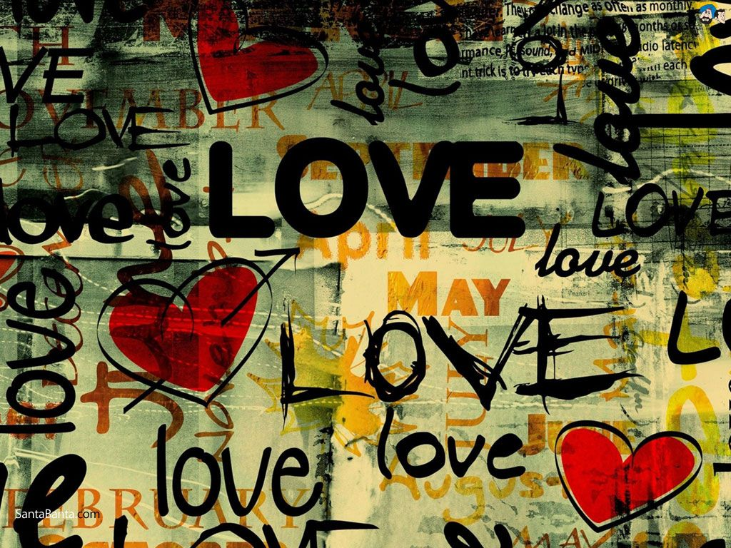 Download My Love Is Gone Wallpaper Gallery Love Graffiti Typography Wallpaper Love Background Images