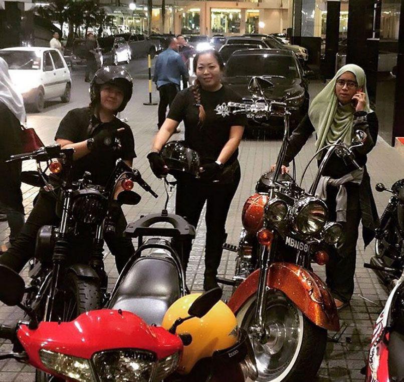 Lady Riders From Malaysia Harleydavidson Via Ig Helen Rcmc Lady Riders Harley Davidson Harley