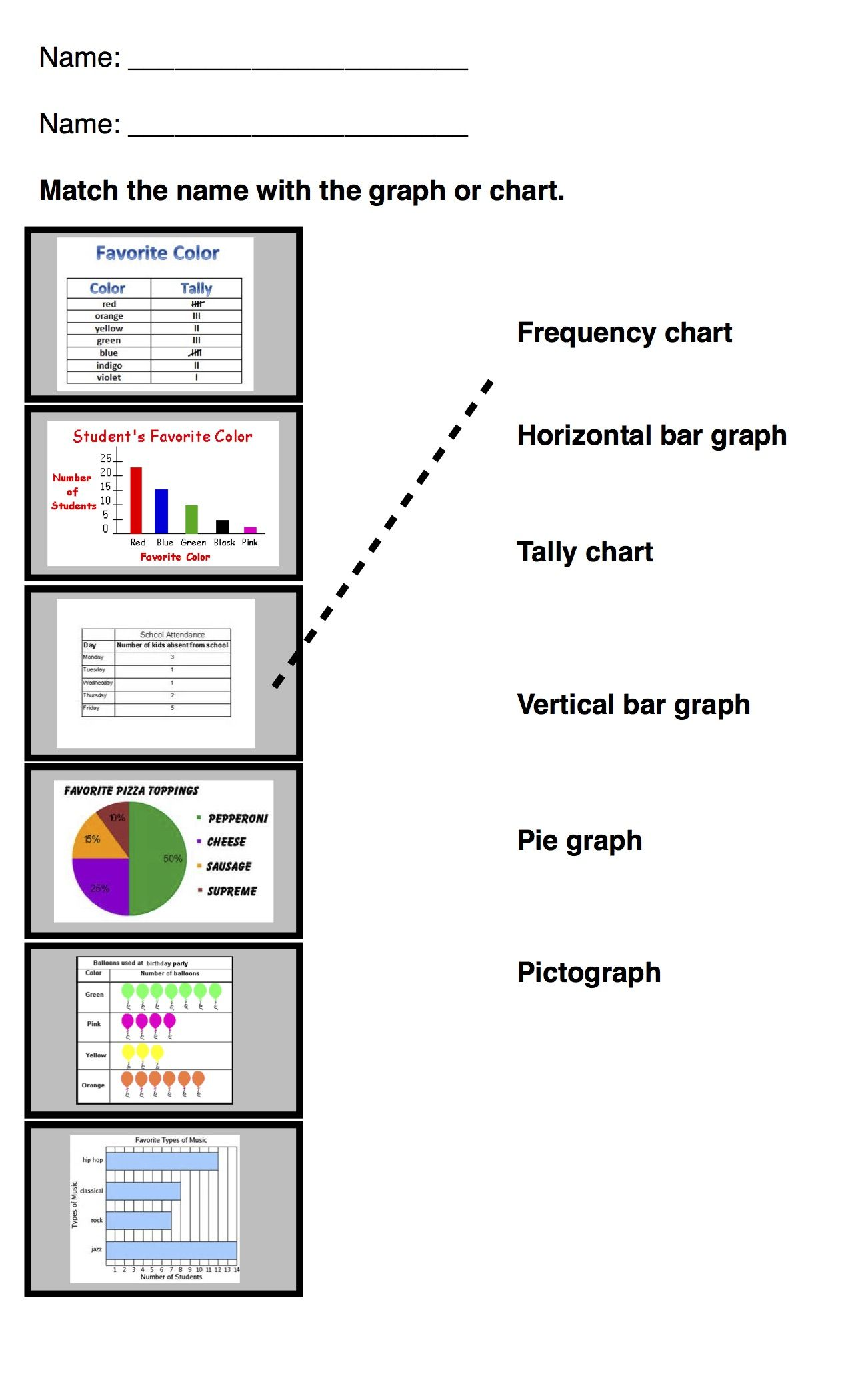 Pie Charts And Graphs Worksheets   Printable Worksheets and Activities for  Teachers [ 2100 x 1275 Pixel ]