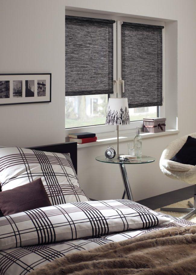 sommerlicher-waermeschutz-fenster-schlafzimmer-rollo wohnen bauen