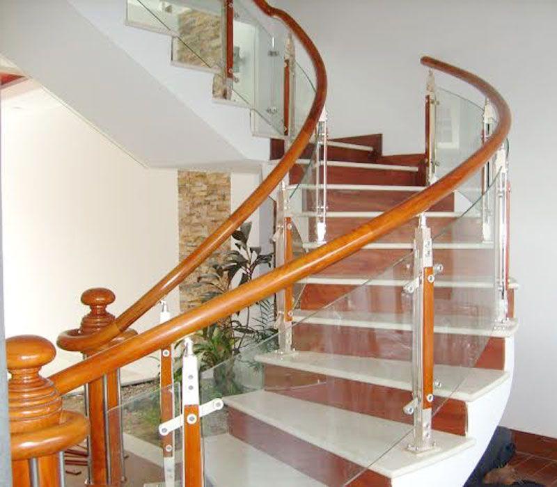 Lan can cầu thang kính Quảng Nam,thiết kế & thi công cầu thang kính tại  Quảng Nam,lan can kính cường lực,gia công cầu thang kính …   Cầu thang, Cửa  kính, Cửa