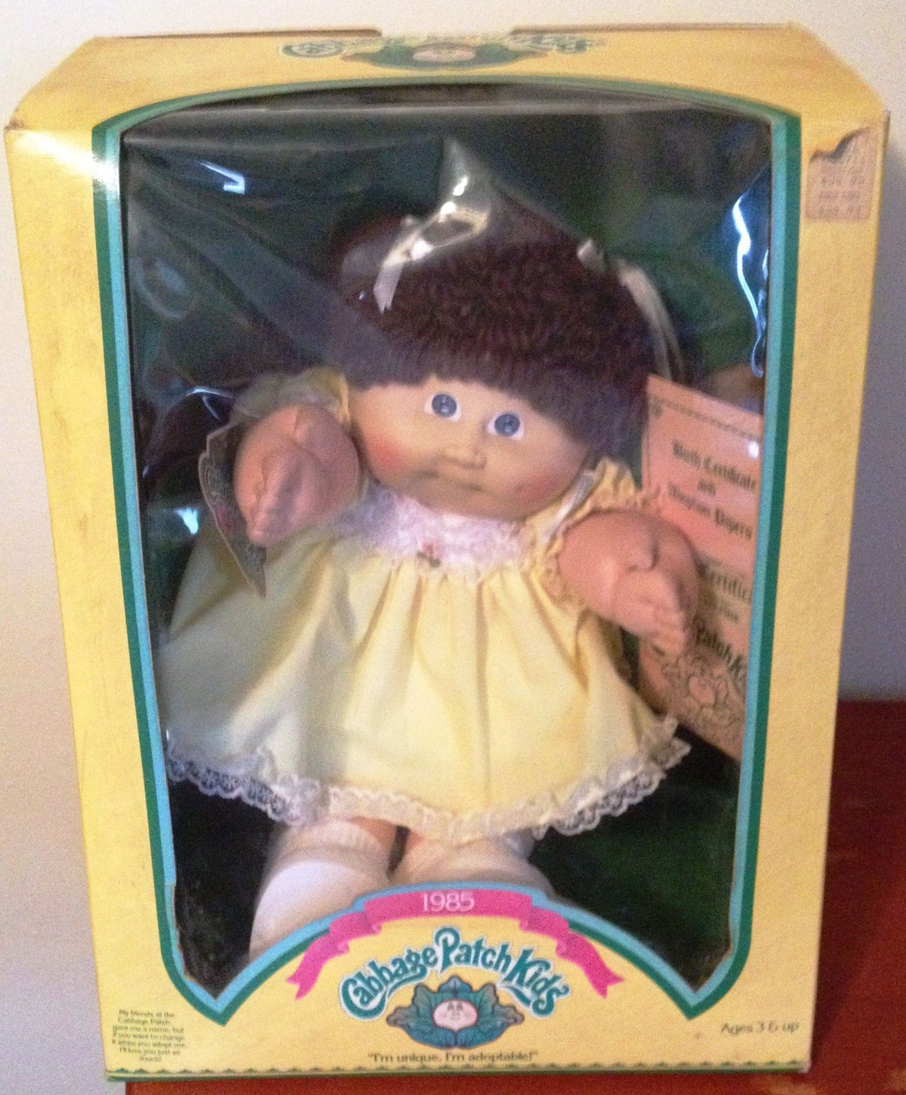 Vintage 1985 Cabbage Patch Doll Cheerleader With Box And Birth Certificate Ebay Cabbage Patch Kids Dolls Vintage Cabbage Patch Dolls Cabbage Patch Kids