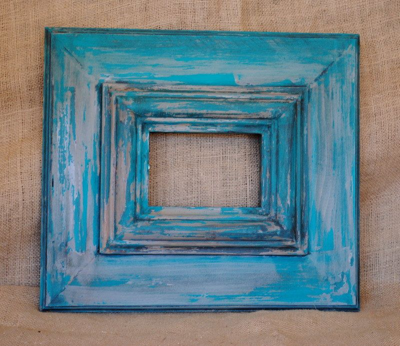 painted wood picture frames picture framesdistressed frame4x6 - Distressed Wood Picture Frames