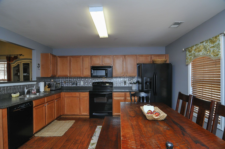 kitchen | Hardwood in kitchen, Kitchen cabinets, Columbia ...