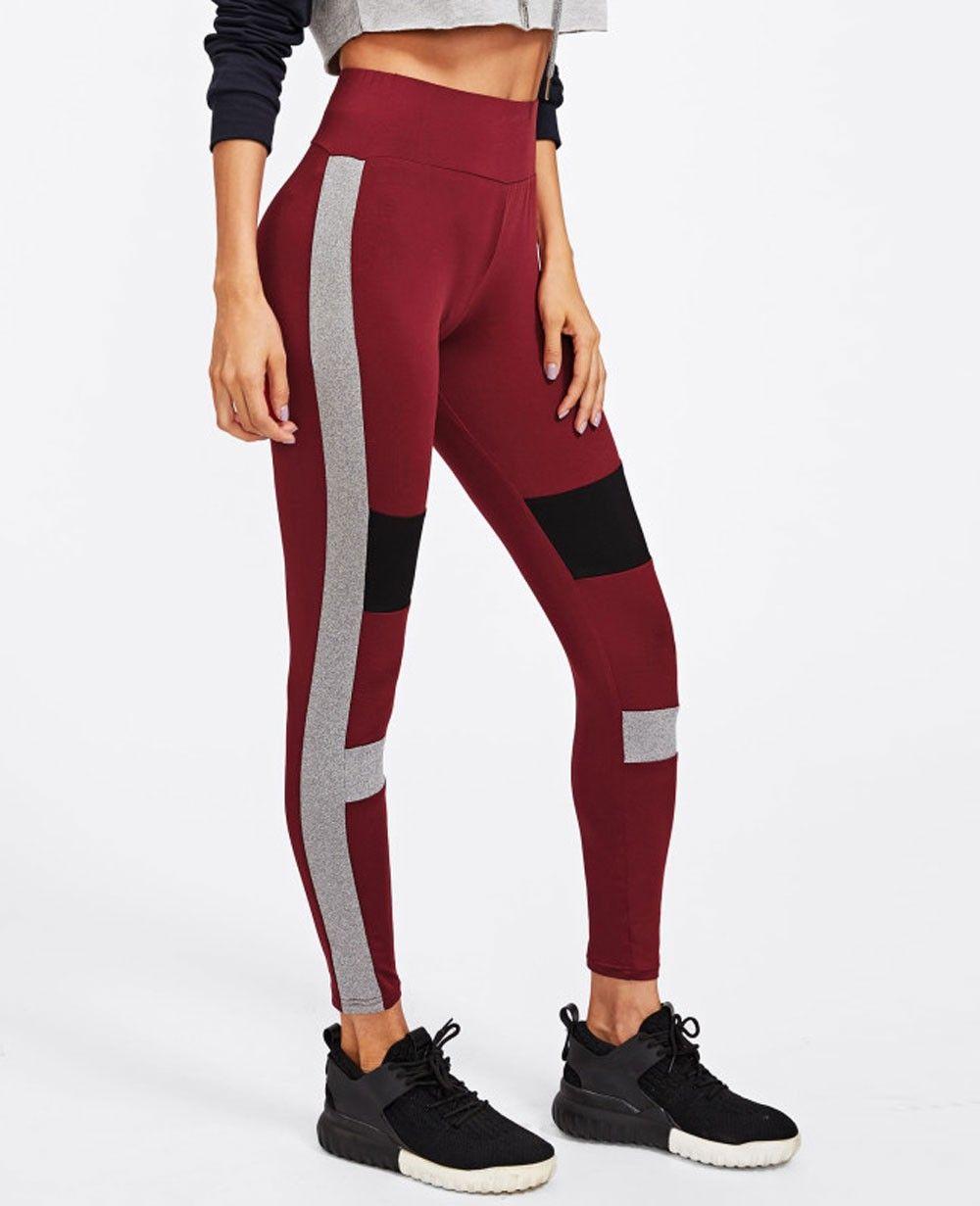d521fc708008a Color Block Cut And Sew Leggings   Women Tights & Leggings in 2019 ...