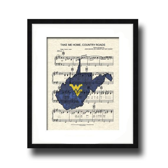 West Virginia University Theme Song Take Me Home Country Roads