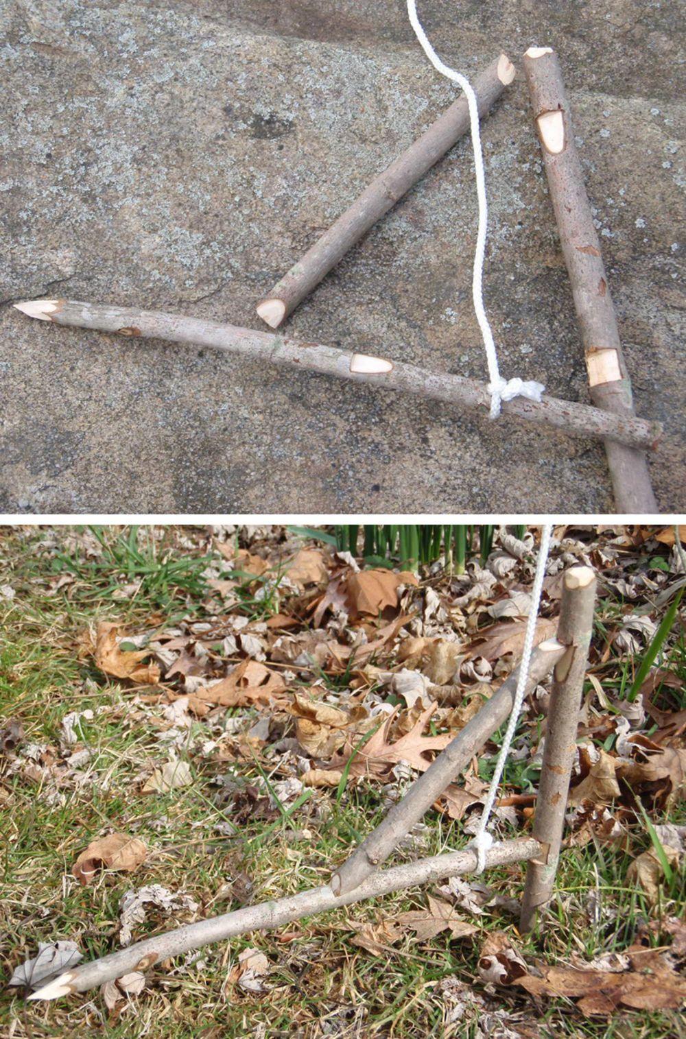 Figure 4 Snare Survival Trap Survival Tips Survival Wilderness Survival