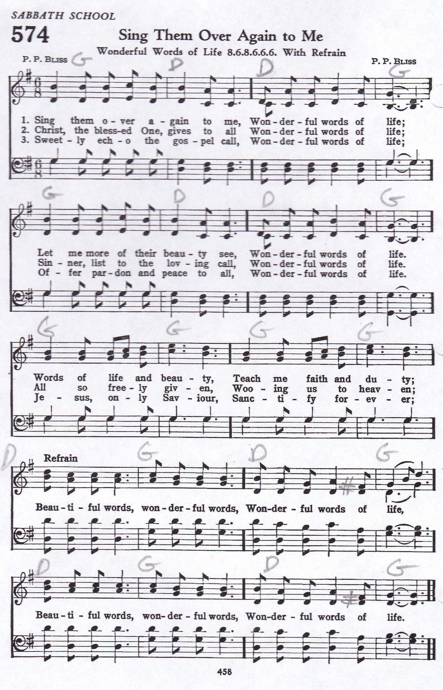 Sing Them Over Again To Me Hymn Satb Hymns Lyrics Hymn Music Gospel Song