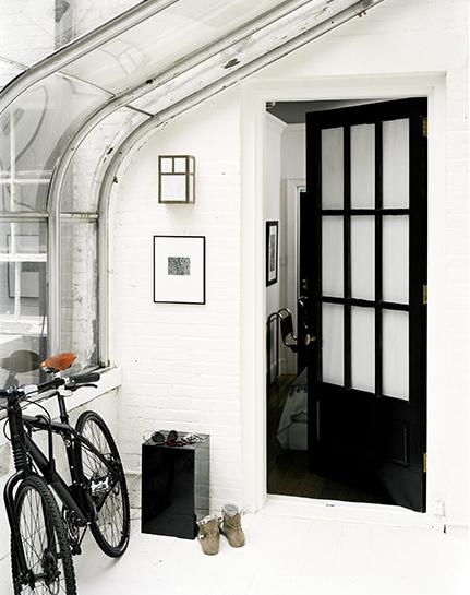 atrium windows black door photo douglas friedman hallways, the best way in Pinterest