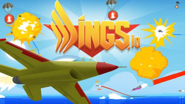 Wings.io is a 2D battle game that is conducted in the sky