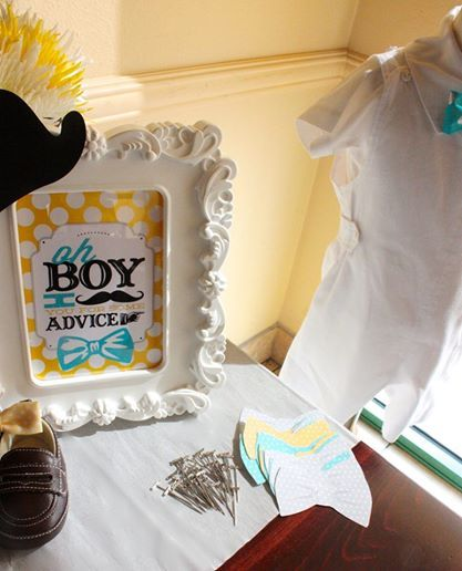 Check Out These Adorable Baby Boy Shower Ideas With A Mustache And