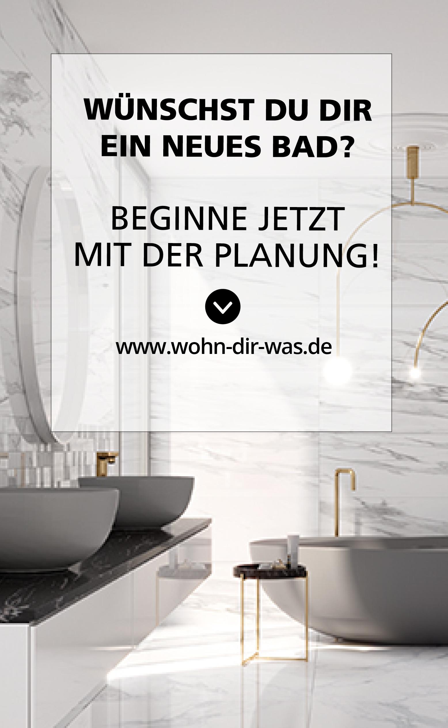 Badezimmer richtig planen – mit Unterstützung von WOHN dir WAS ...