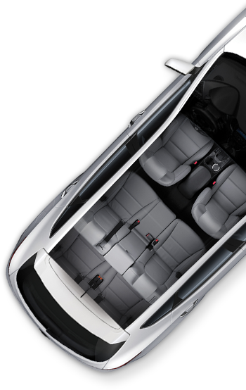 Mix things up with various seating layouts. The #Hyundai #SantaFe can accommodate many types of cargo and passenger groups