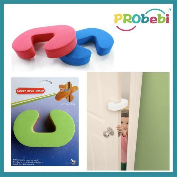 Door Guard | #BabySafety finger pinch guard | Durable Door stop | High density EVA  sc 1 st  Pinterest & Door Guard | #BabySafety finger pinch guard | Durable Door stop ... pezcame.com