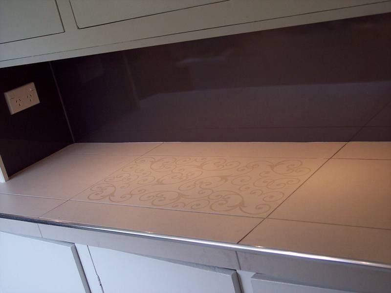 Tiled Benchtop | Tile Design Ideas
