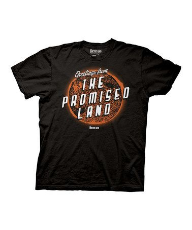 Take a look at this Black 'Greetings from the Promised Land' Tee - Men on zulily today!