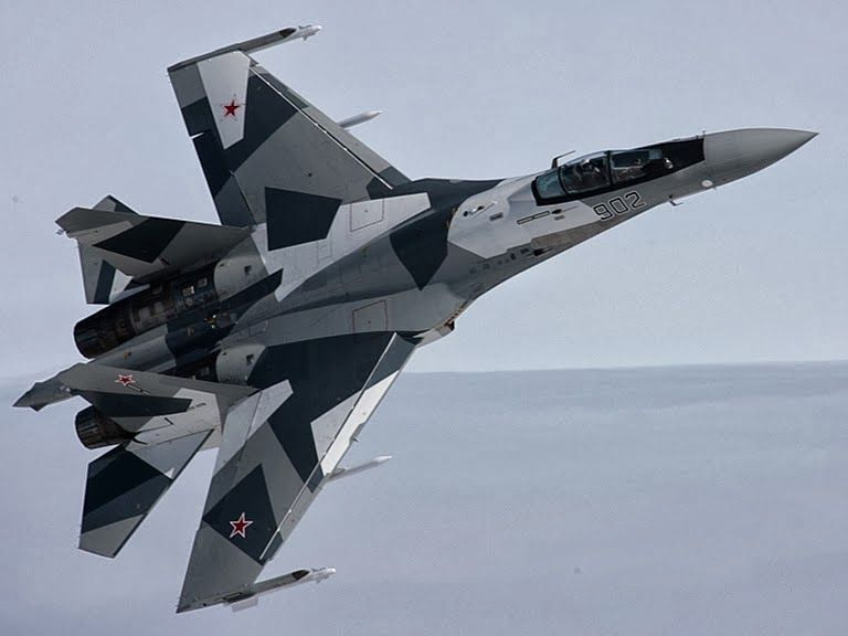 Sukhoi Su 35 Pesawat Tempur Tercanggih Rusia Fighter Jet Picture And Fighter Jets Sukhoi Air Fighter