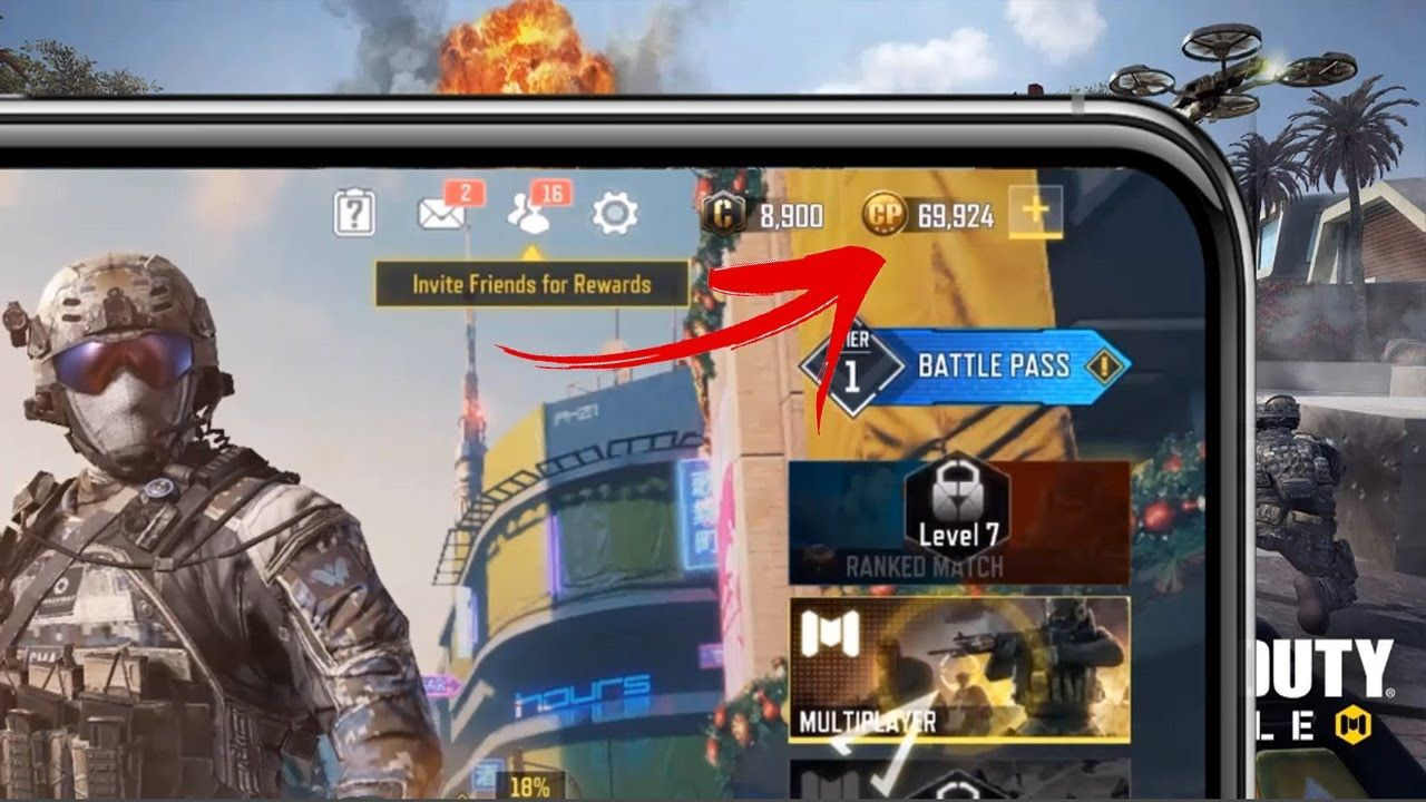 COD Mobile Hack 💗 How To Get Free COD Points 💗 SEASON 1