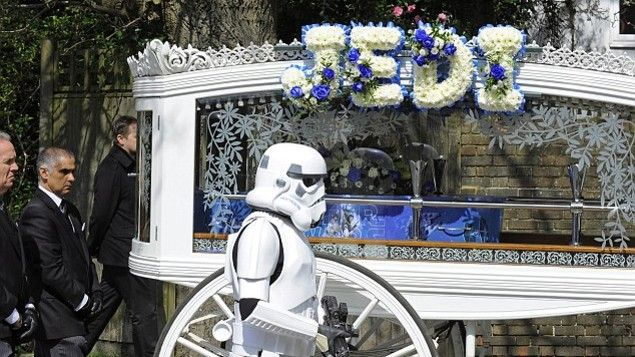 Beautiful 'Star Wars' funeral for a 4-year-old jedi | KSL.com