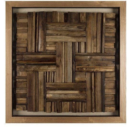 Harrington Reclaimed Wood Wall Art