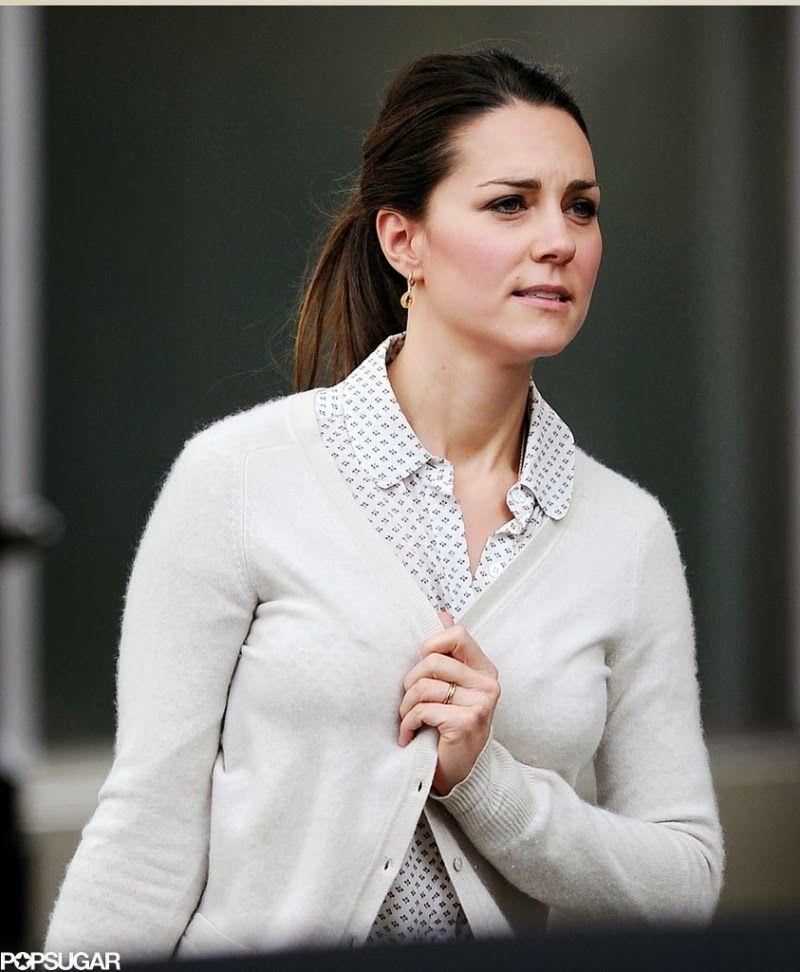 Catherine ,Duchess of Cambridge shopping in London at Zara Home