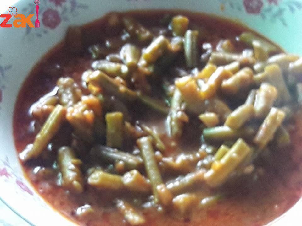 طريقة عمل الفاصوليا الخضراء زاكي Main Dishes Food Dishes