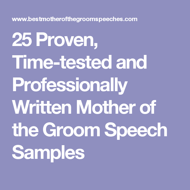 25 Proven, Time-tested And Professionally Written Mother