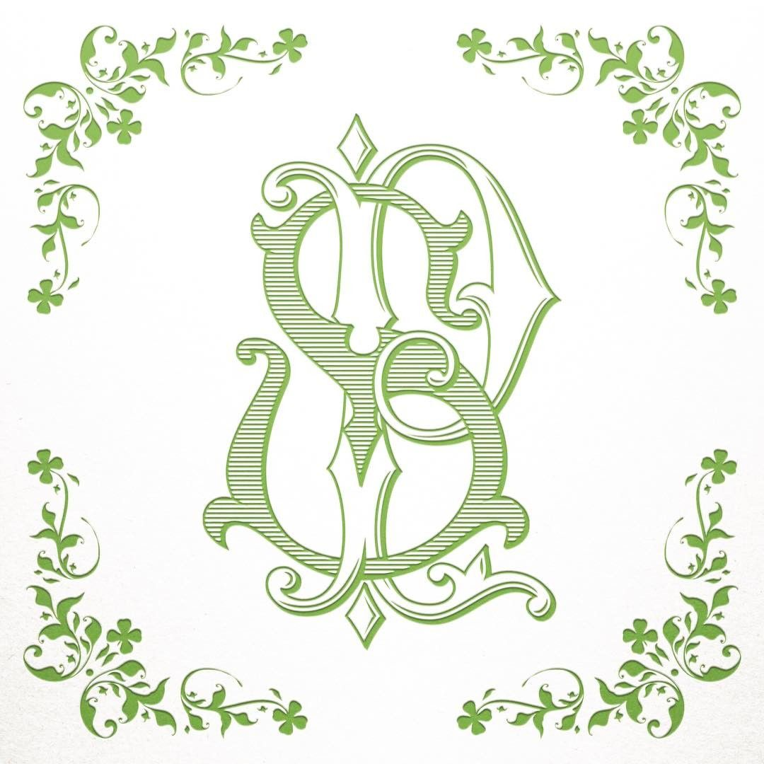 Vintage Wedding Monogram Rt Tr Wedding Monogram Digital