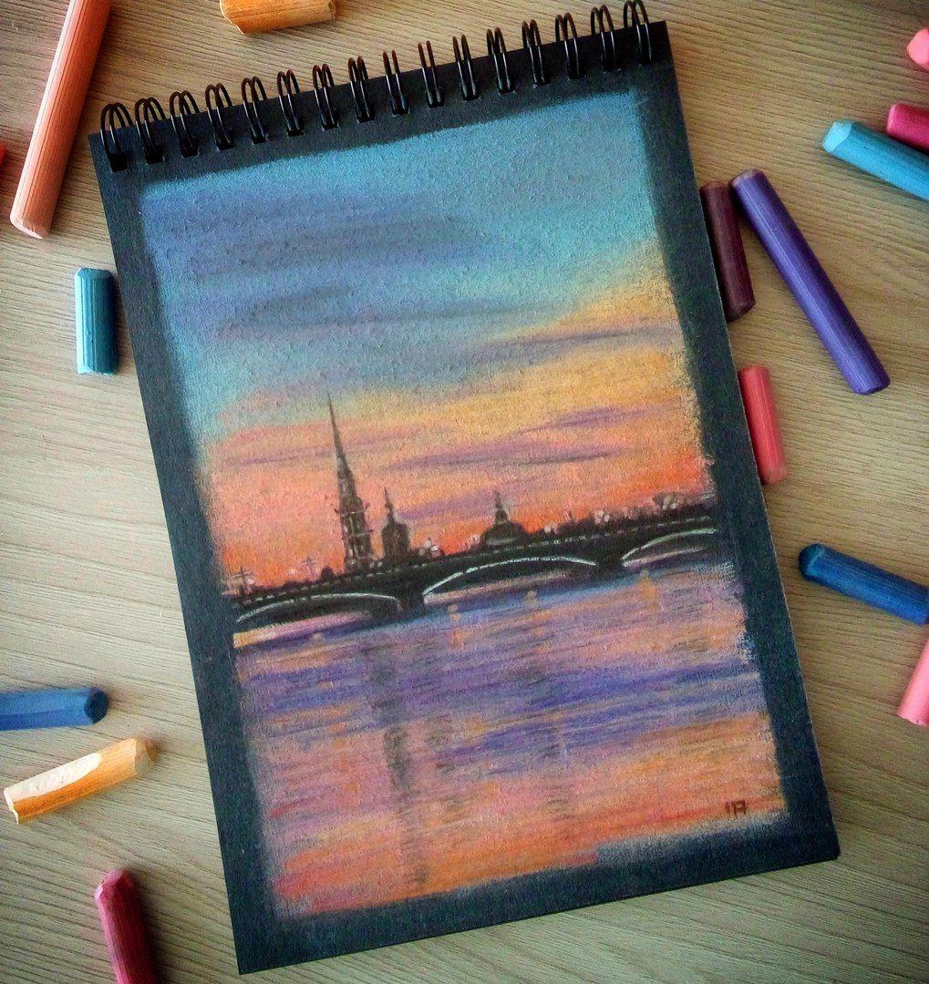 Картинки которые можно нарисовать пастелью