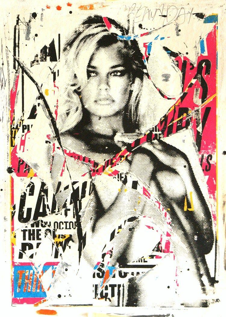 Charlie Anderson: Ni rompe, ni rasga...Pinta | collage | Pinterest ...