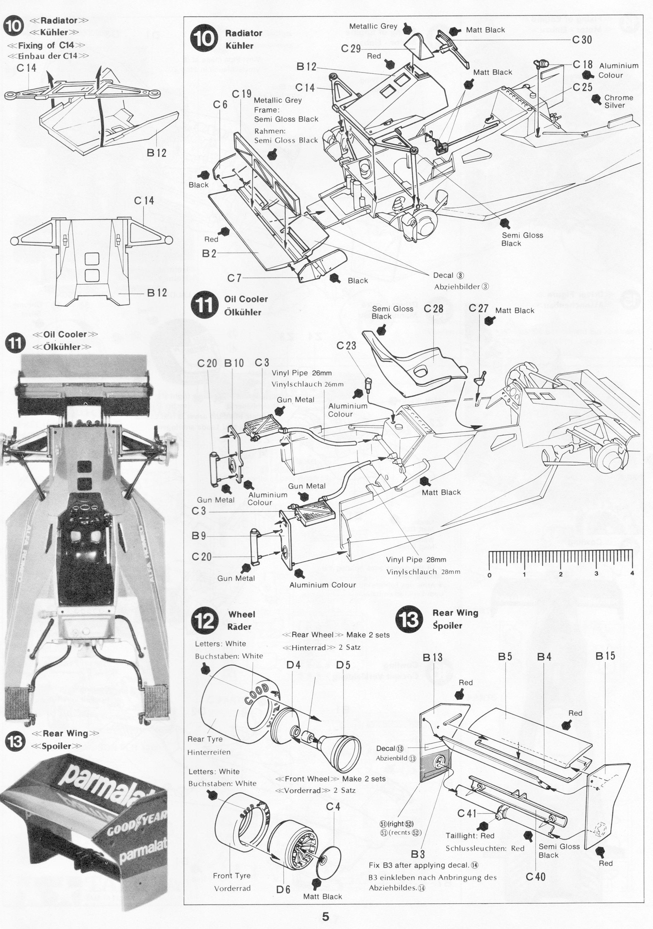 Pin De Gluefinger En Tamiya 1 20 Brabham Bt46