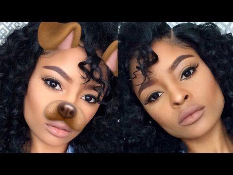 everyday matte makeup  insta baddie makeup tutorial