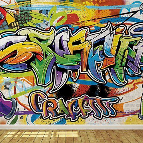 Cool Graffiti Wall 2 Wallpaper Mural https//www