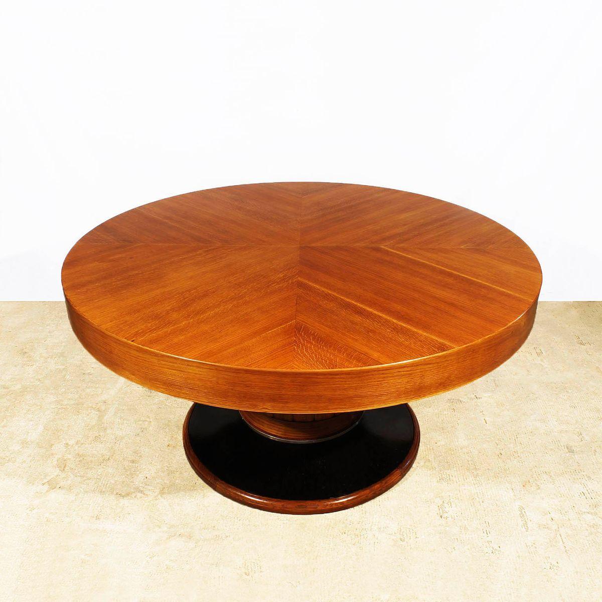 Esstisch Rund Ausziehbar Holz Esszimmertisch Modern Design