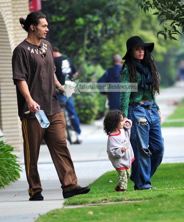Jason Momoa Video: EXCLUSIVE: Lisa Bonet And Jason Momoa Out For A Family
