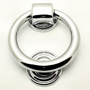 Designer \u0026 Contemporary Polished Chrome 100mm Ring Door Knocker Stunning  sc 1 st  Pinterest & Designer \u0026 Contemporary Polished Chrome 100mm Ring Door Knocker ...