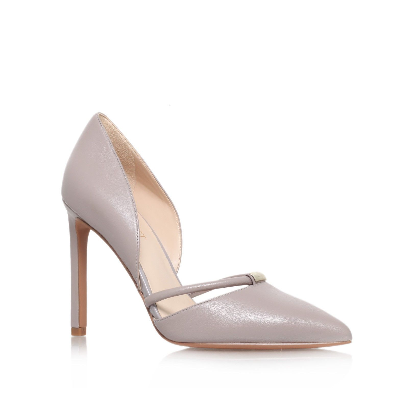 fe84c5901258d takeitez grey high heel court shoes from Nine West   temp   Pinterest