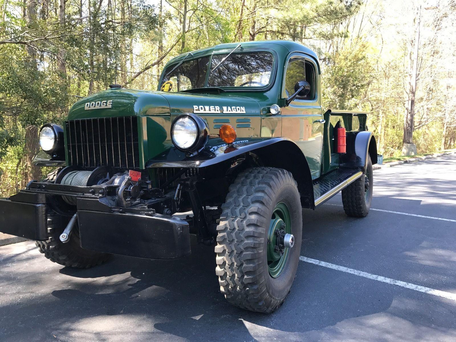1952 Dodge Power Wagon Trucks Pinterest 1949 Ebay