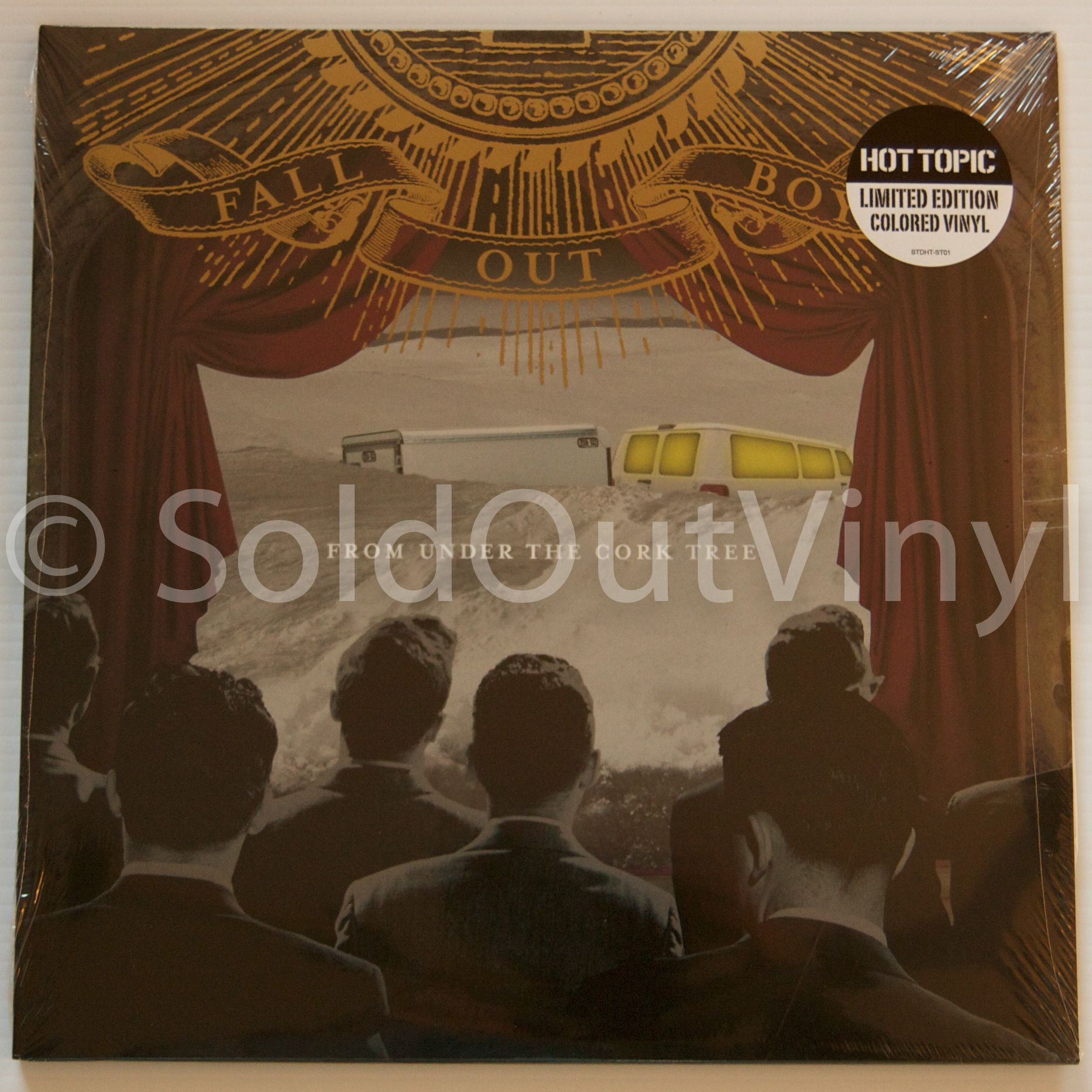fall out boy from under the cork tree vinyl lp cork lp and boys