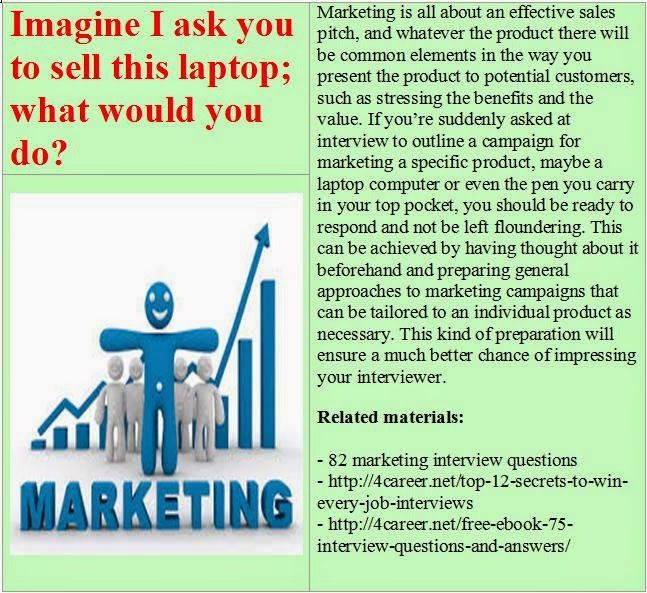 Related materials 82 marketing interview questions Ebook - marketing interview questions
