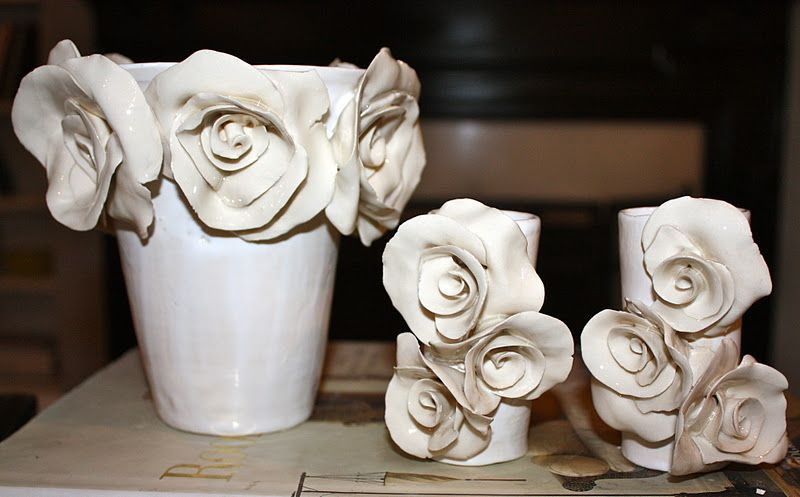 love me some carline reehl! so talented and we grew up down the street from each other! Would look so pretty as wedding table centerpieces