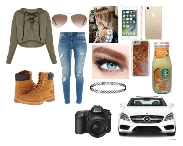 """""""I want snow!!!"""" by abigail-carpenter ❤ liked on Polyvore featuring Ted Baker, Timberland, Maybelline, Mercedes-Benz, Tom Ford and Agent 18"""