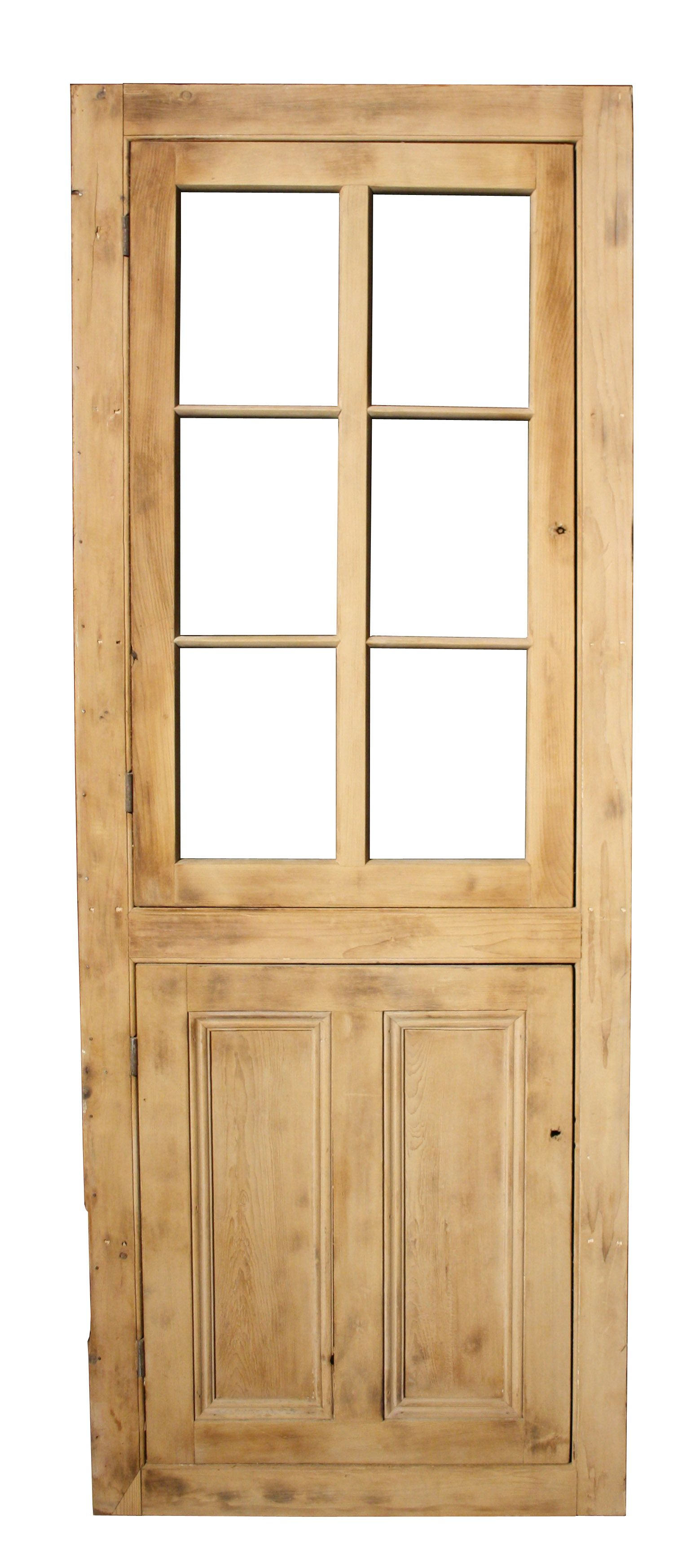 ANTIQUE PINE CUPBOARD DOORS WITH FRAME - UK Architectural Heritage - ANTIQUE PINE CUPBOARD DOORS WITH FRAME - UK Architectural Heritage