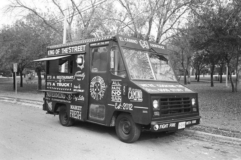 El Camino food truck branding by Savvy-Studio