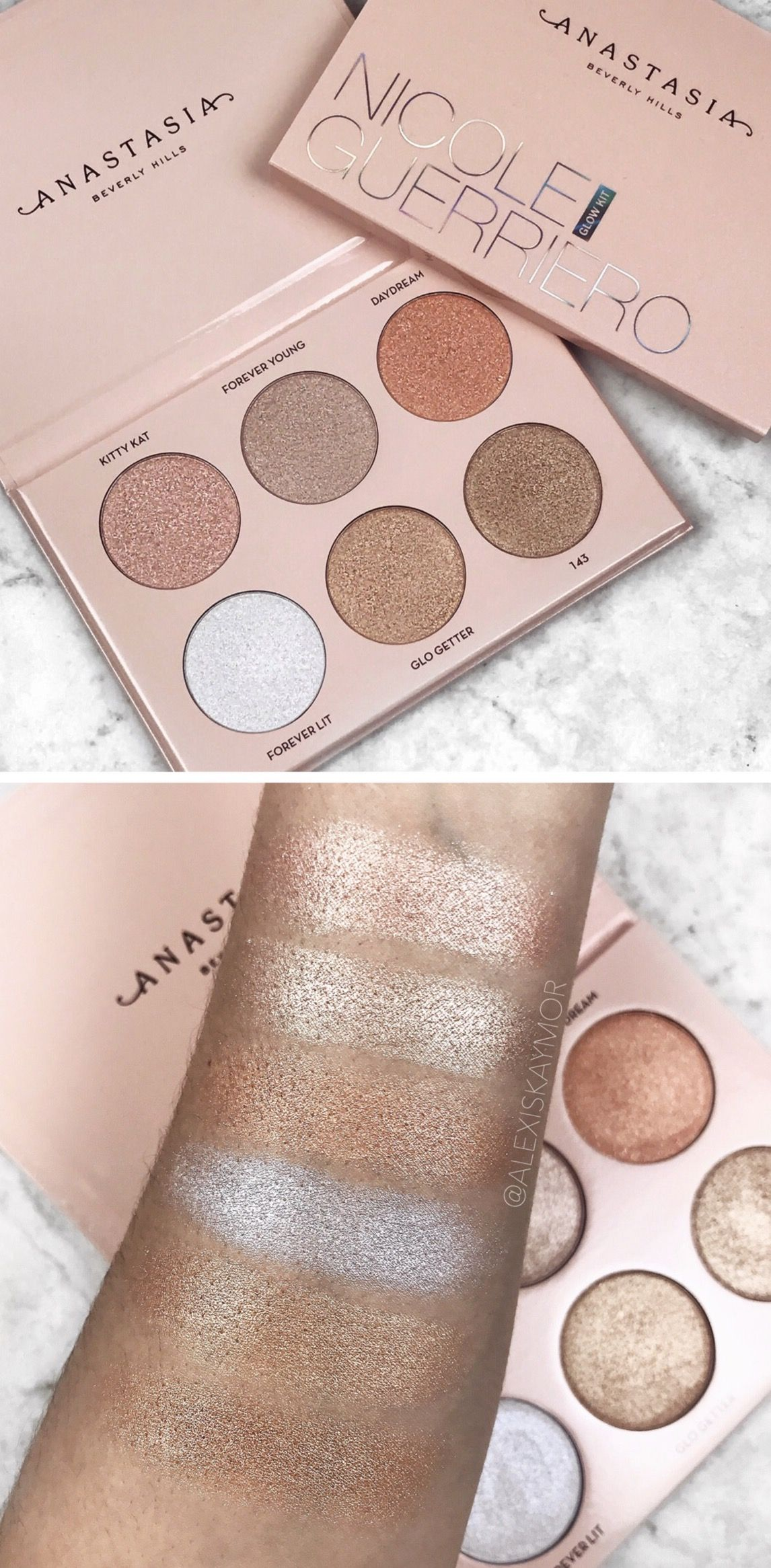 The New Nicole Guerriero Glow Kit From Anastasia Beverly Hills œ�