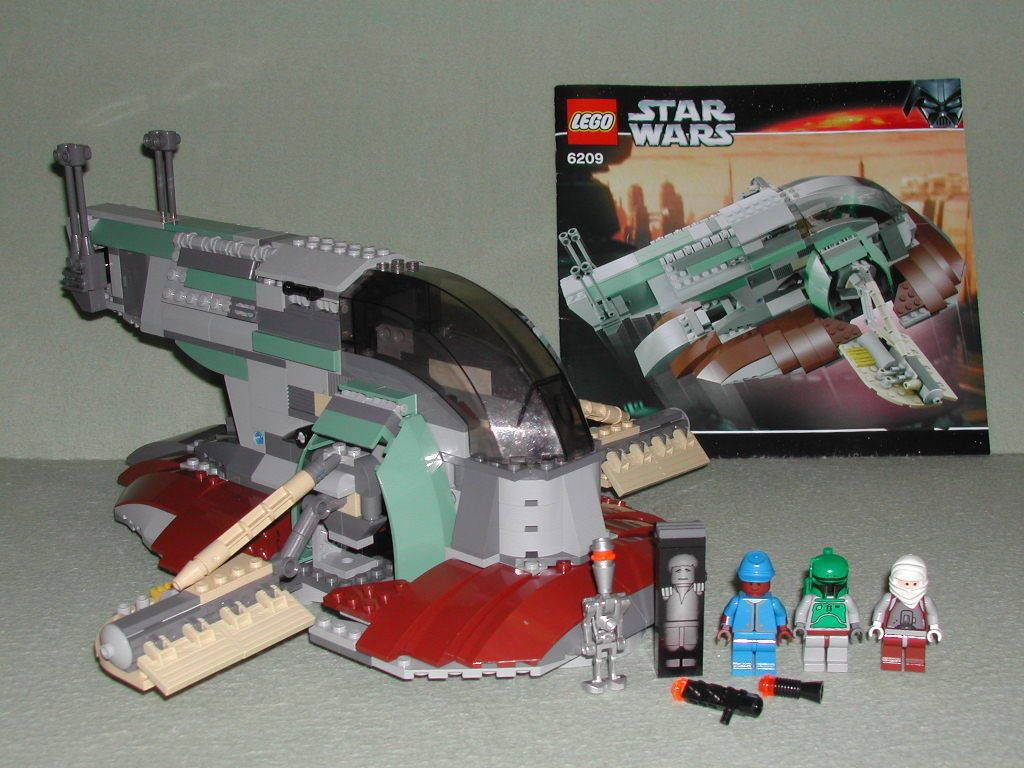 8098 // box** Retired 100/% Complete **No Instr Lego Star Wars Clone Turbo Tank